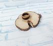 Кольцо Из дерева в Stranamasterov.by