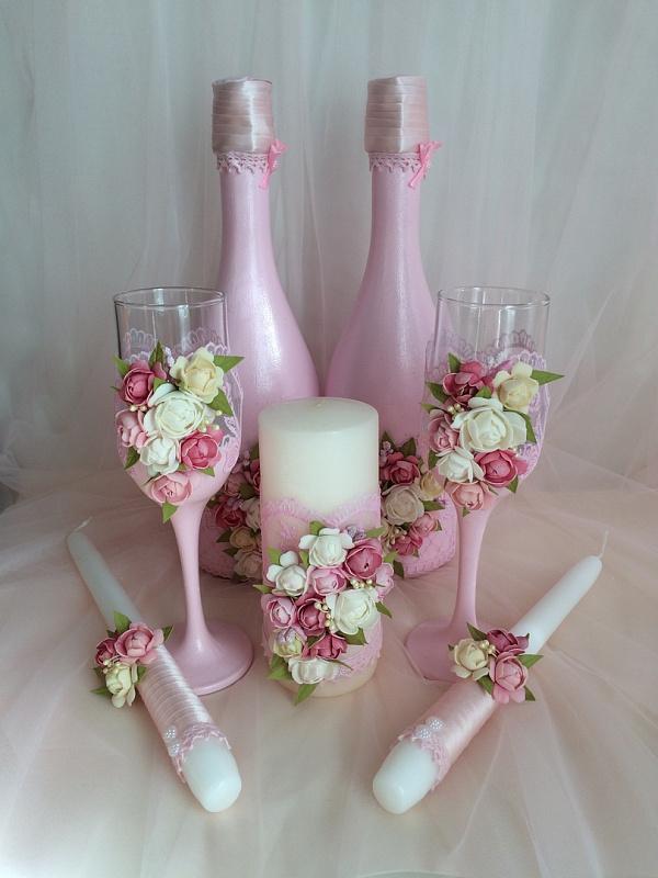 Оформление к свадьбе Свадебный набор ручной работы. Подарок на свадьбу. Вот что нужно дарить!