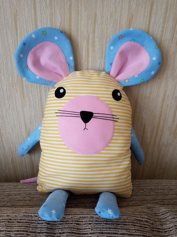 Подушка - игрушка Подушка - мышонок в Stranamasterov.by