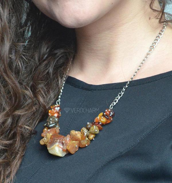 Колье из янтаря Amber в Stranamasterov.by