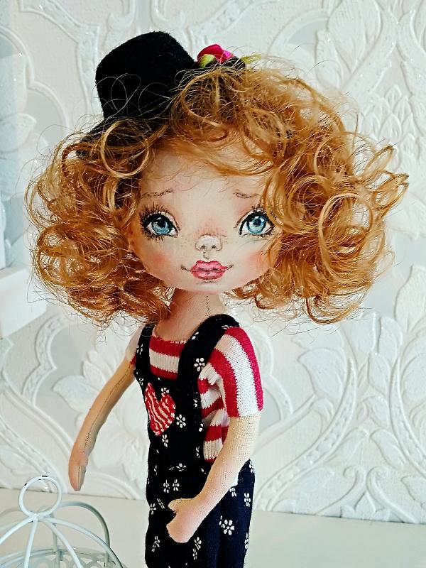 Авторская кукла Тиша в Stranamasterov.by