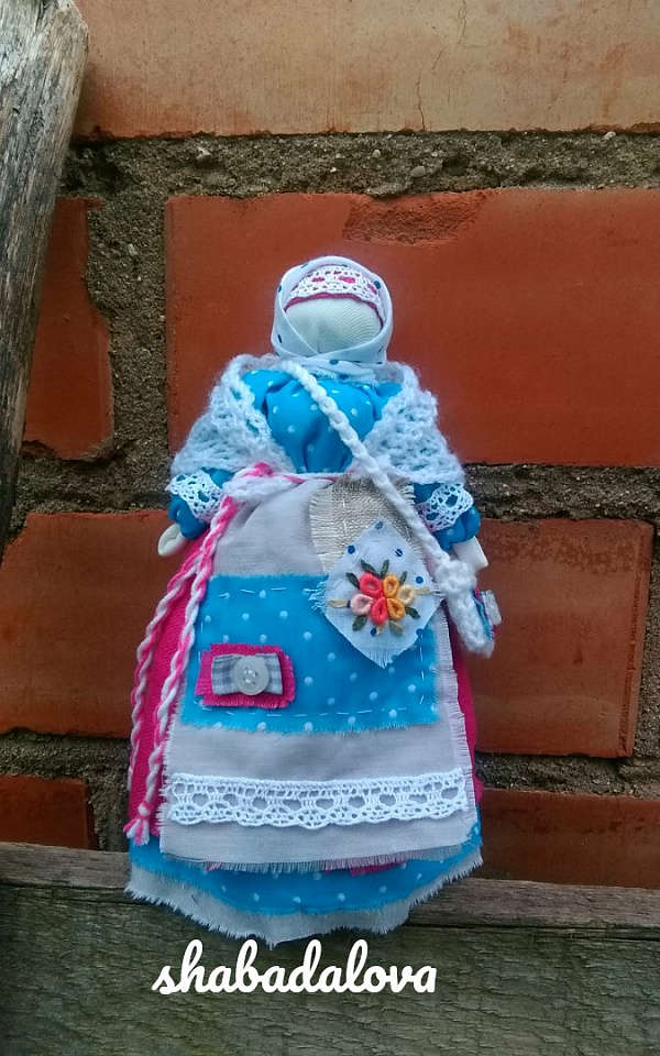 Народная кукла мотанка Успешница в Stranamasterov.by