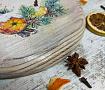 Доска сервировочная Запах Рождества в Stranamasterov.by