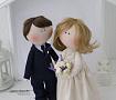 Свадебная пара Жених и Невеста ручной работы. Подарок на свадьбу. Вот что нужно дарить!
