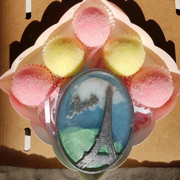Набор мыла Французский поцелуй в Stranamasterov.by