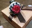 Ложка с декором Капкейк с красной розой в Stranamasterov.by