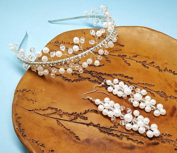 Свадебный комплект Королева ручной работы. Подарок на свадьбу. Вот что нужно дарить!