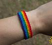 Браслет-фенечка ЛГБТ в Stranamasterov.by