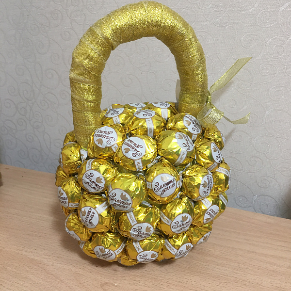 Гиря Из конфет в Stranamasterov.by
