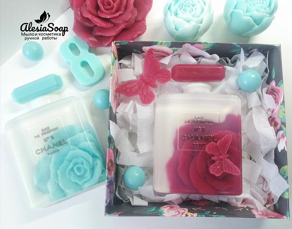 Мыло ручной работы Chanel с розой в Stranamasterov.by