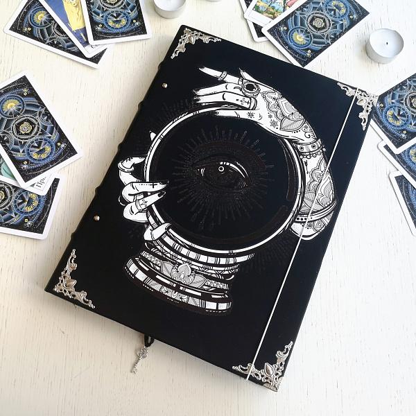 Кожаная обложка для блокн Всевидящее око в Stranamasterov.by