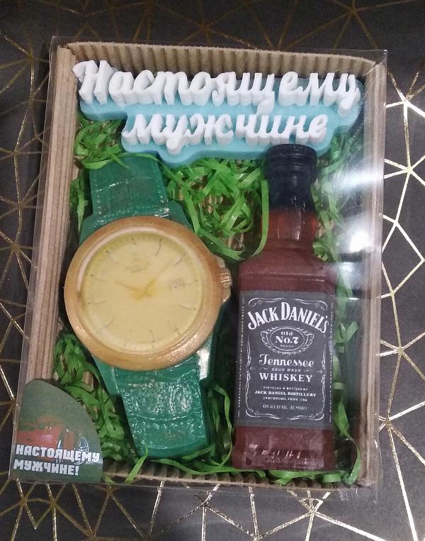 Набор мыла подарочный Настоящему мужчине в Stranamasterov.by