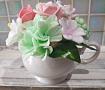 Композиция из мыла Нежный букет в чашке в Stranamasterov.by