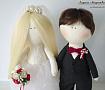 Свадебные куклы Жених и Невеста ручной работы. Подарок на свадьбу. Вот что нужно дарить!