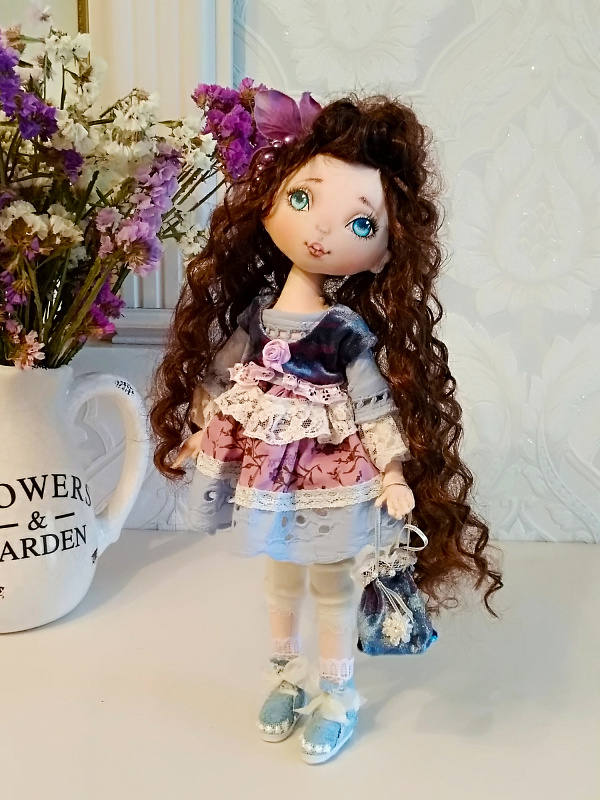 Авторская кукла Кристина в Stranamasterov.by