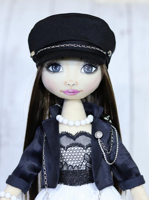 Текстильная кукла Николь в Stranamasterov.by