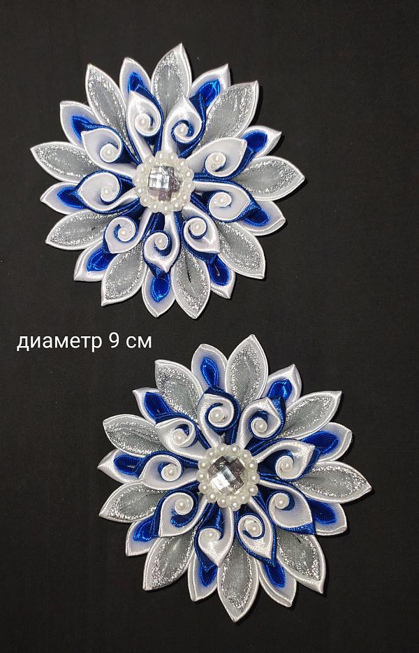 Бант Синий цветок в Stranamasterov.by