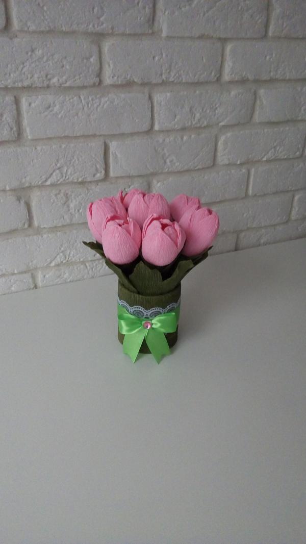 Букет из конфет Розовое счастье в Stranamasterov.by