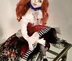 Авторская кукла Клоунесса Мэри в Stranamasterov.by