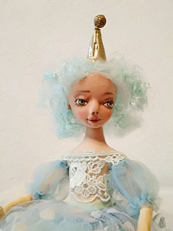Авторская кукла Снежинка в Stranamasterov.by