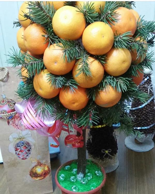 Топиарий Мандариновое дерево в Stranamasterov.by