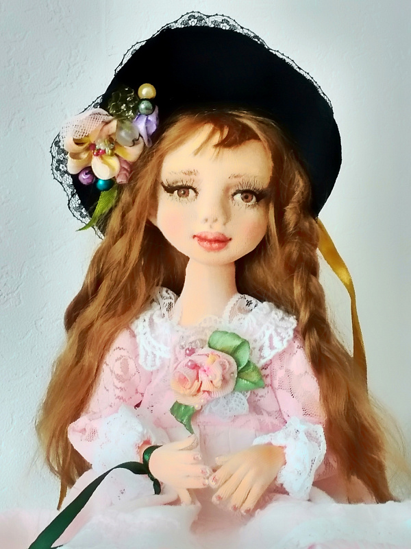 Авторская кукла Маруся в Stranamasterov.by
