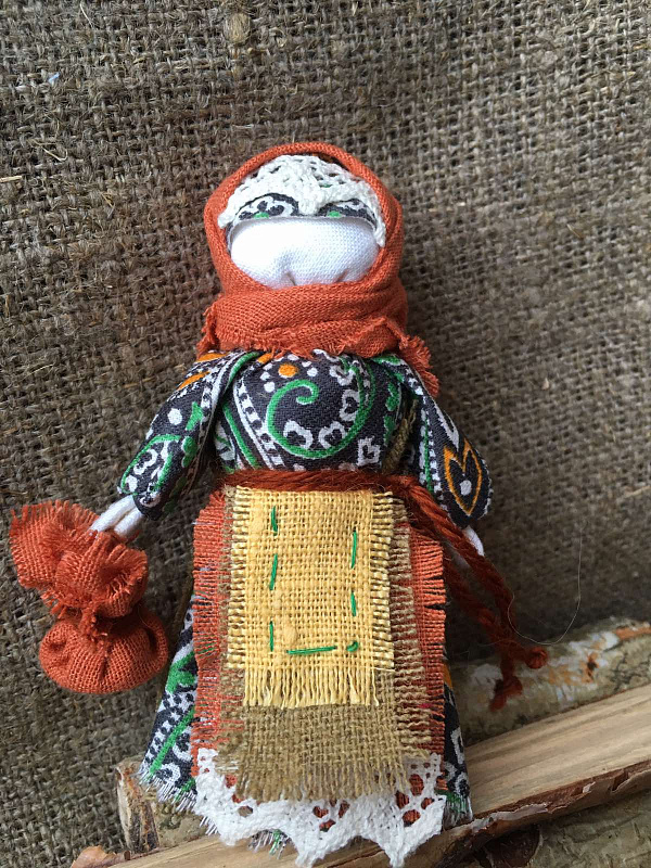 Народная кукла мотанка Берегиня в Stranamasterov.by