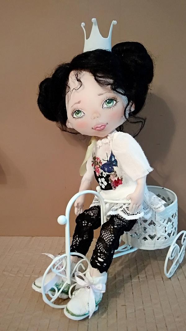 Авторская кукла Принцесса Стефания в Stranamasterov.by