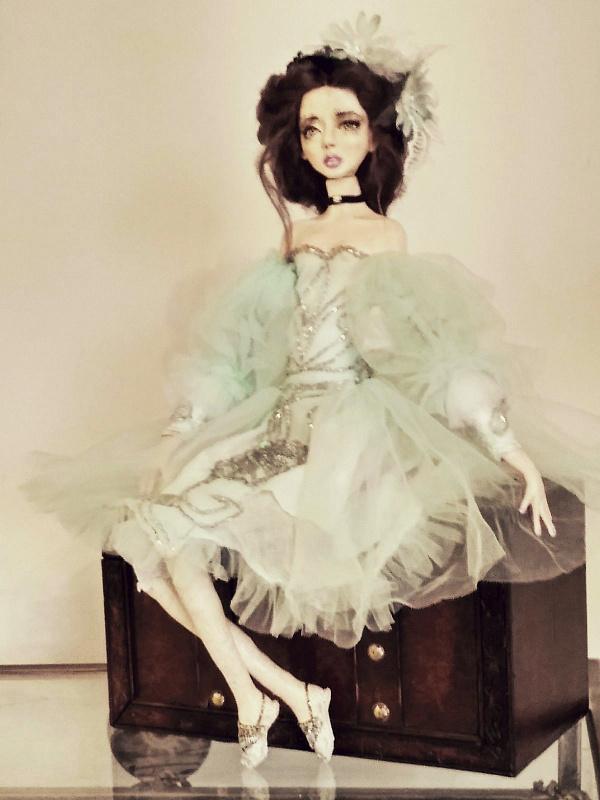 Коллекционная кукла Элис в Stranamasterov.by