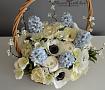 Цветы в корзине Цветы ручной работы в Stranamasterov.by