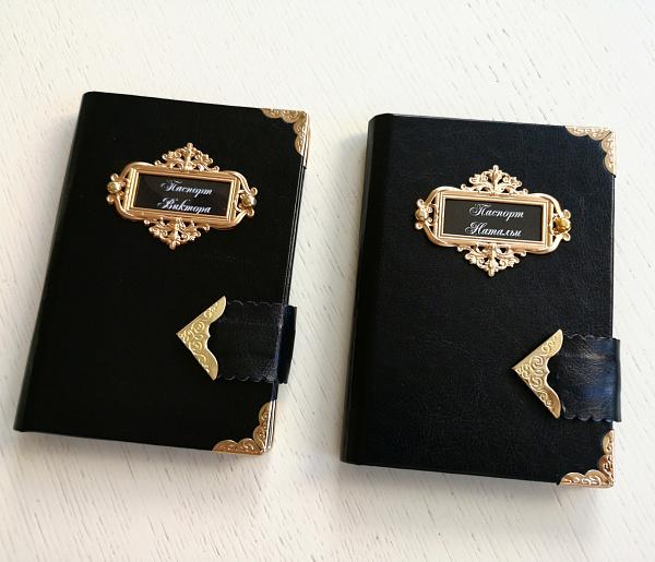 Обложка на паспорт Золото в Stranamasterov.by