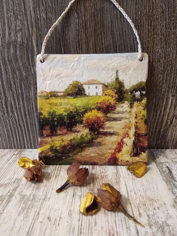 Панно Осень в Провансе в Stranamasterov.by