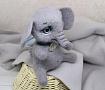 Валяная игрушка Слоник в Stranamasterov.by