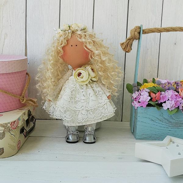 Интерьерная кукла Кудряшка в Stranamasterov.by