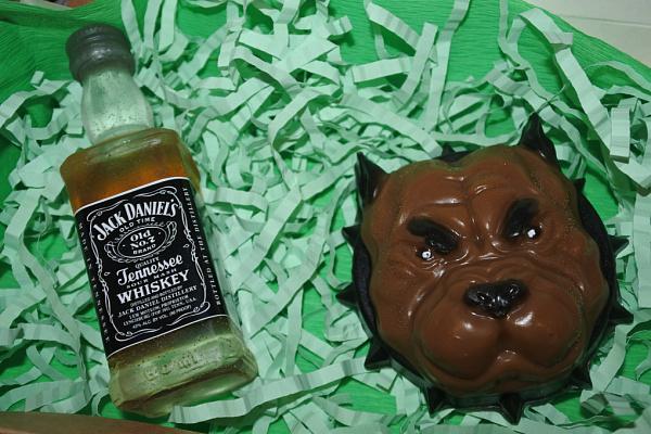 Мыло ручной работы Набор Виски Jack Daniels в Stranamasterov.by
