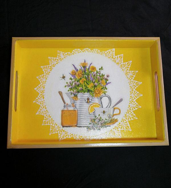 Поднос Медовое чаепитие в Stranamasterov.by