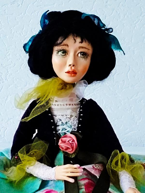 Авторская кукла Поля в Stranamasterov.by