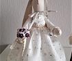Свадебные куклы Зайки жених и невеста ручной работы. Подарок на свадьбу. Вот что нужно дарить!