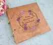 Книга пожеланий Цветочный венок #1 ручной работы. Подарок на свадьбу. Вот что нужно дарить!