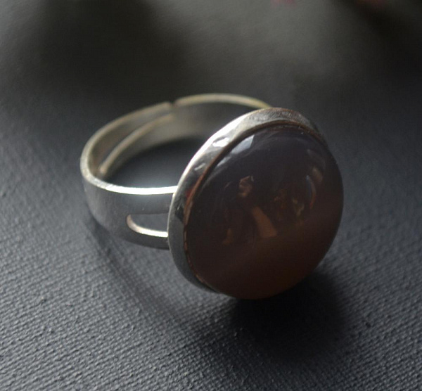 Кольцо с камнем Опал в Stranamasterov.by