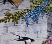 Картина лентами Ласточкино гнездо в Stranamasterov.by