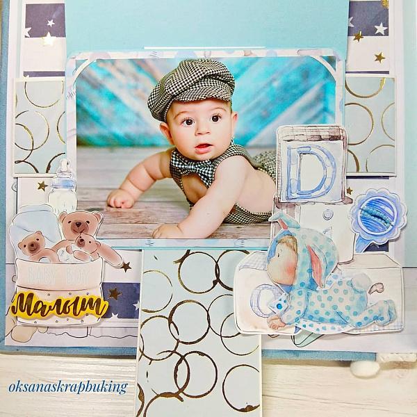 Фотоальбом для мальчика Плюшевый мишка в Stranamasterov.by