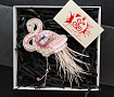 Брошь Розовый фламинго в Stranamasterov.by