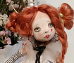 Авторская кукла Клоунесса Марта в Stranamasterov.by