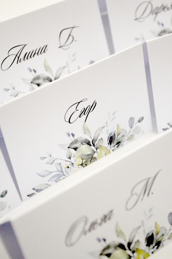 Карточки рассадки Веточки ручной работы. Подарок на свадьбу. Вот что нужно дарить!