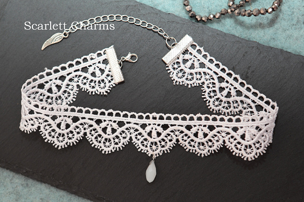 Чокер White lace в Stranamasterov.by