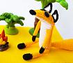 Вязаная игрушка Лис в Stranamasterov.by