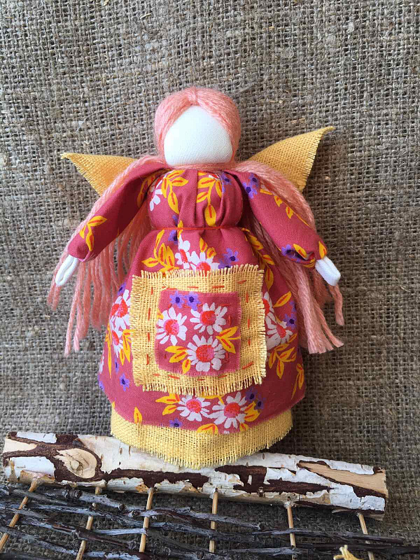 Кукла мотанка Ангел в Stranamasterov.by