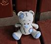 Вязаная игрушка Мишка Тедди в Stranamasterov.by