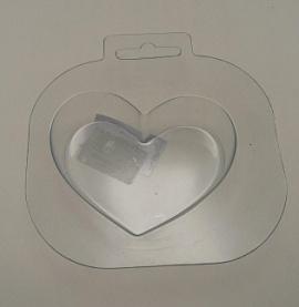 Пластиковая форма Сердце Беларусь.